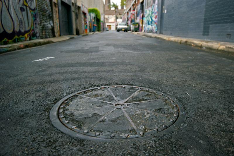 Man to Manhole