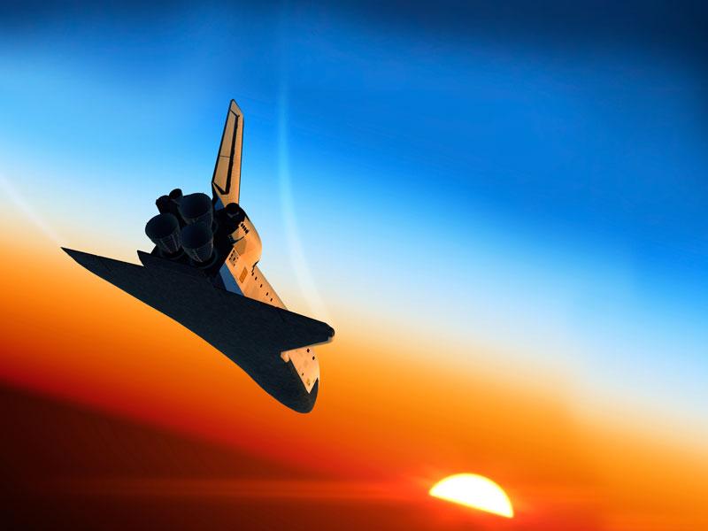 Like a Space Shuttle
